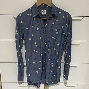 GAP Chambray Star Shirt - Size XS